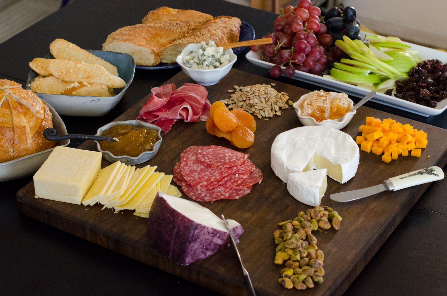 How To Curate A Cheese Plate - Chef Sarah Elizabeth