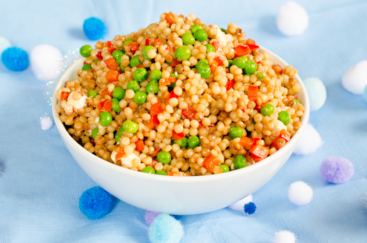 Couscous Bubble Salad from Daisy at Home
