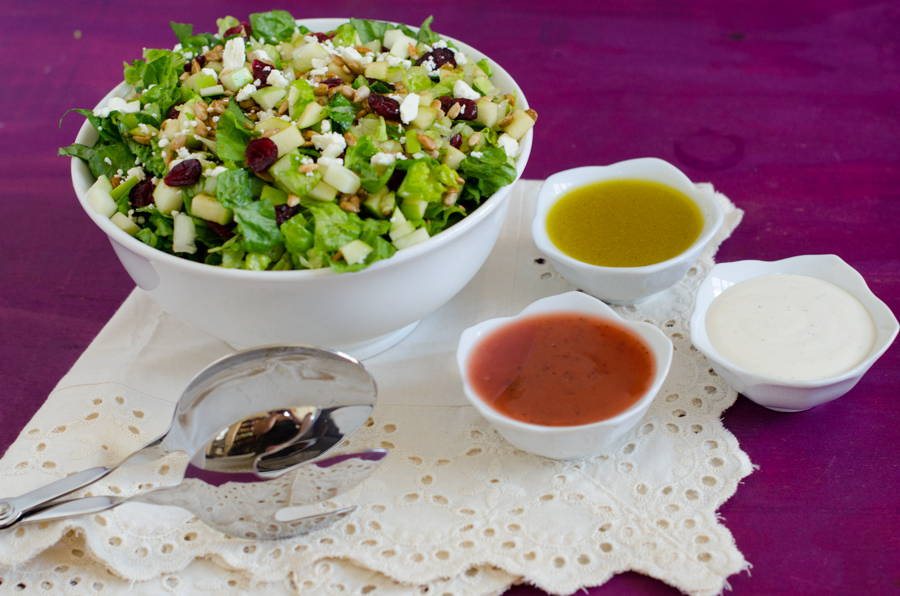 Easy Green Party Salad-2