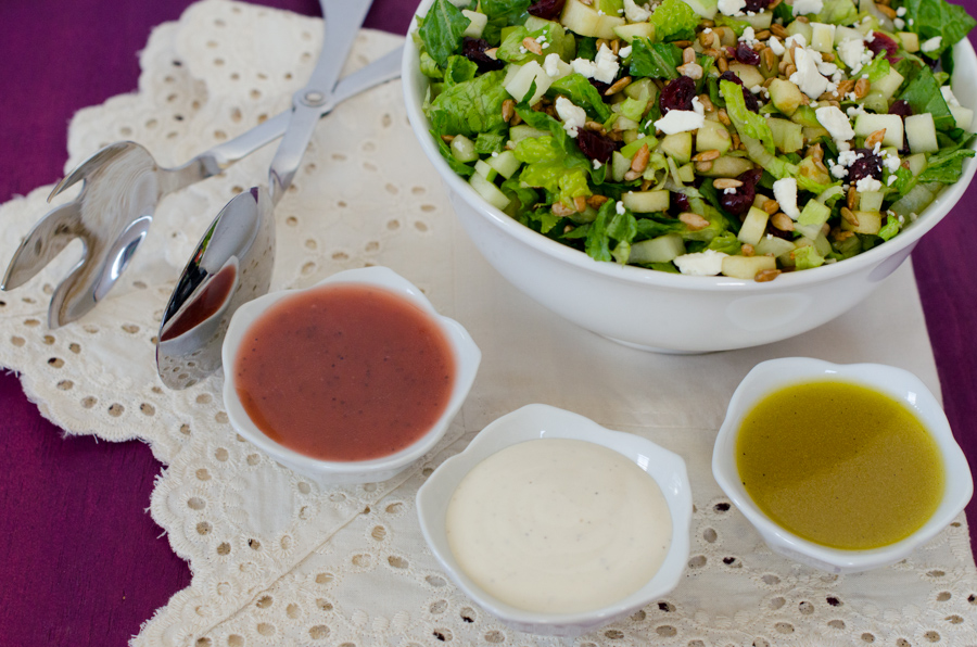 Easy Green Party Salad