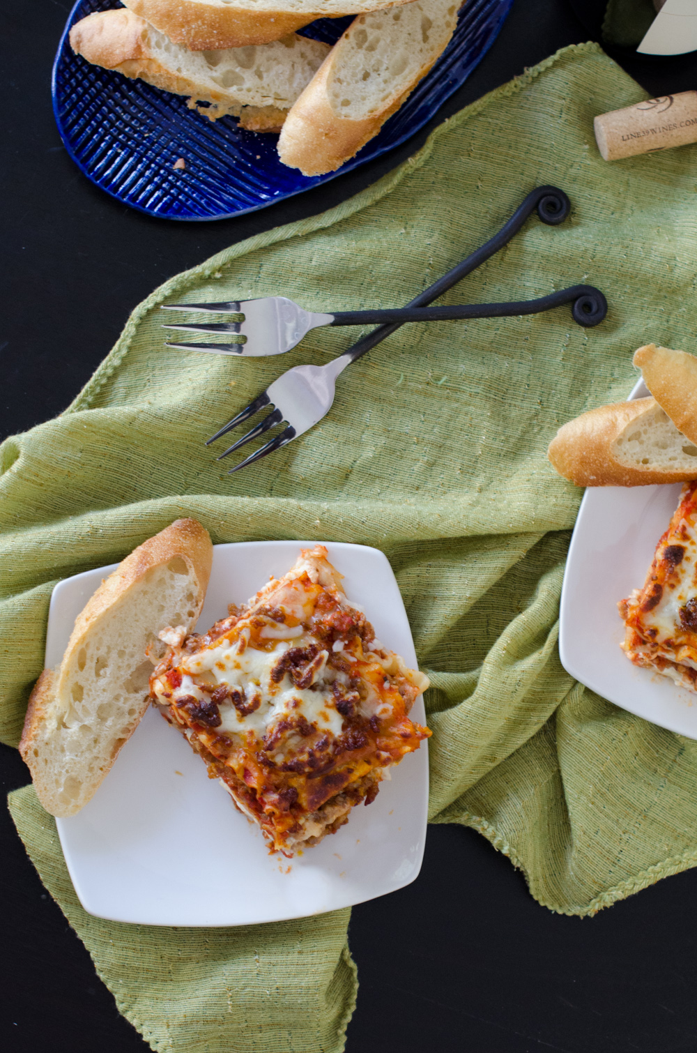 Cheese Attack Lasagna recipe from ChefSarahElizabeth.com